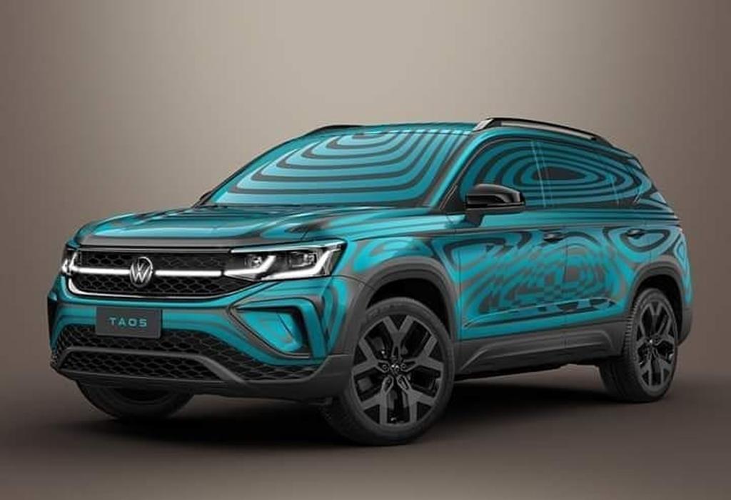 Новый компактный кроссовер Volkswagen Taos