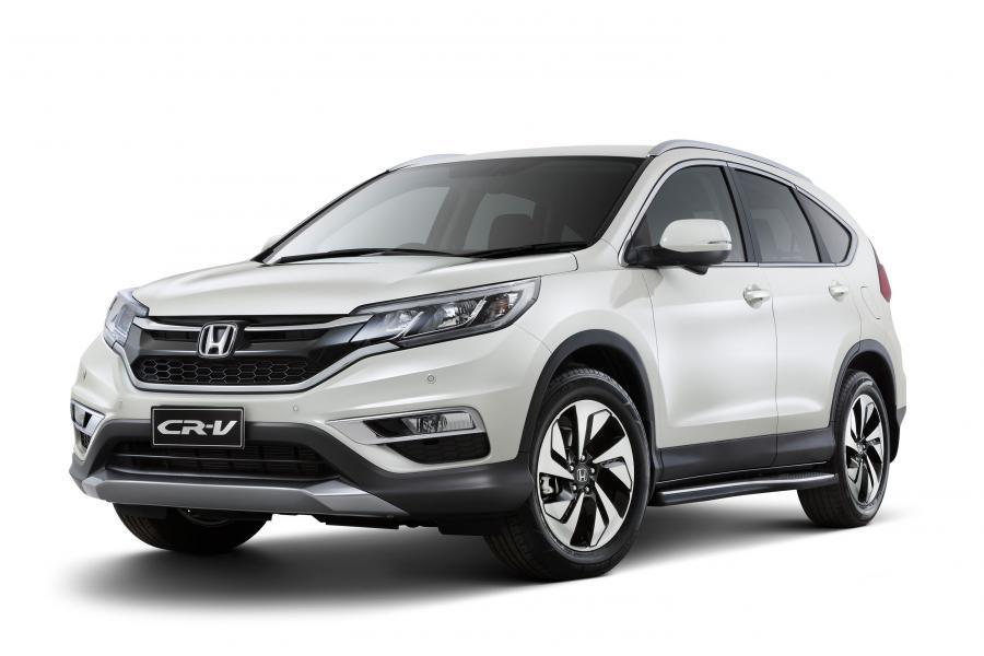 Новая версия кроссовера Honda CR-V в России