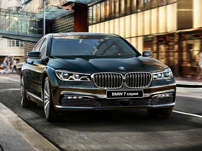 Очередные шпионские фото BMW 7 серии в электрической версии