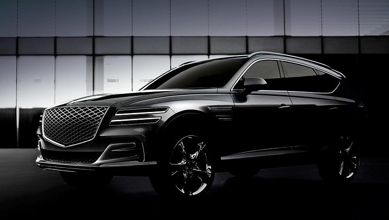 Наконец Hyundai представил свой премиум кросс Genesis GV80 2020 года