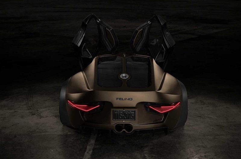 Felino сВ7R – экстравагантный 700-сильный спорткар