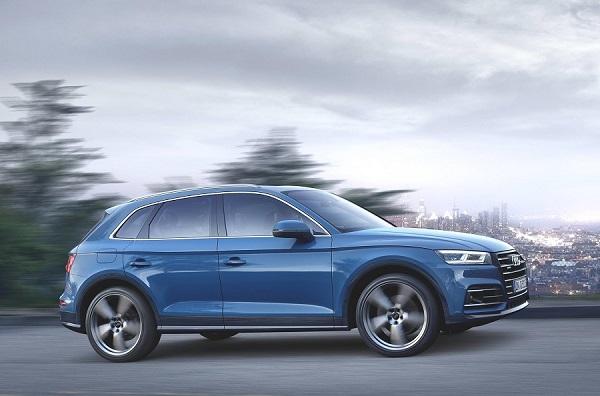 Audi отзывает кроссоверы Q5 из-за проблем с кузовом
