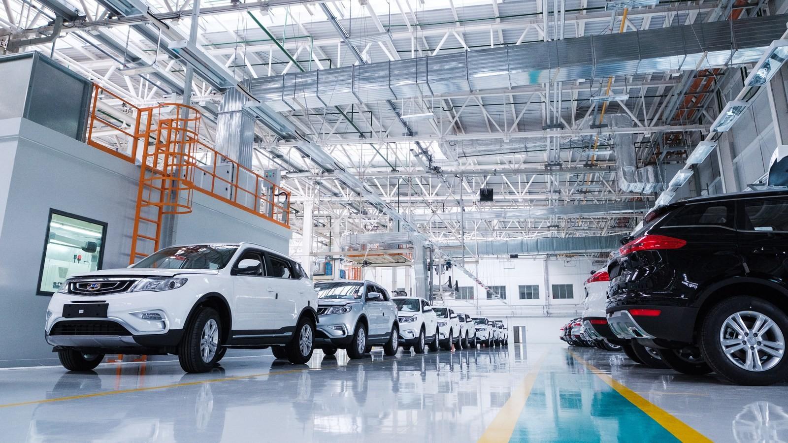 Производство автомобилей Geely перенесут в Беларусь