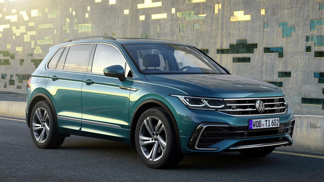 Volkswagen обнародовал цены и комплектации на кроссовер Tiguan 2021